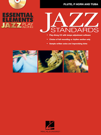 Product Cover for Essential Elements Jazz Play-Along – Jazz Standards