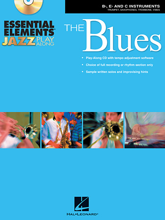Product Cover for Essential Elements Jazz Play-Along – The Blues
