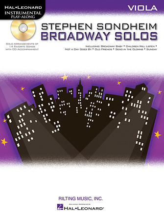 Product Cover for Stephen Sondheim – Broadway Solos
