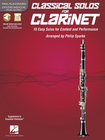 Product Cover for Classical Solos for Clarinet