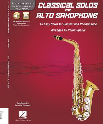 Product Cover for Classical Solos for Alto Saxophone
