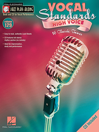 Product Cover for Vocal Standards (High Voice)