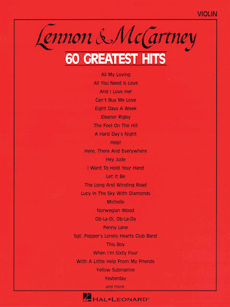 Product Cover for Lennon & McCartney – 60 Greatest Hits