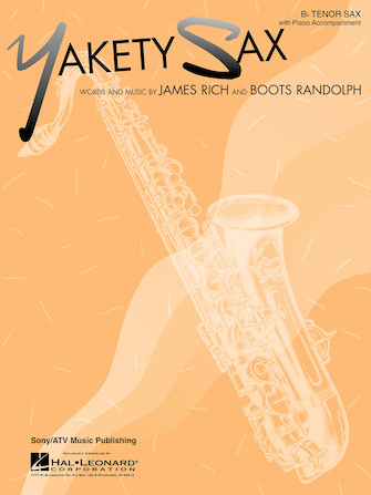 Product Cover for Yakety Sax B Flat Tenor Saxophone With Piano Accompaniment