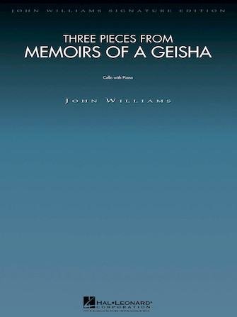 Product Cover for Three Pieces from Memoirs of a Geisha