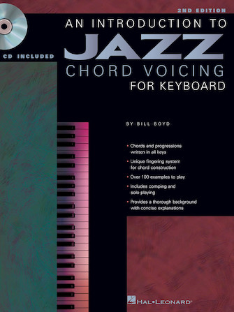 Product Cover for An Introduction to Jazz Chord Voicing for Keyboard – 2nd Edition