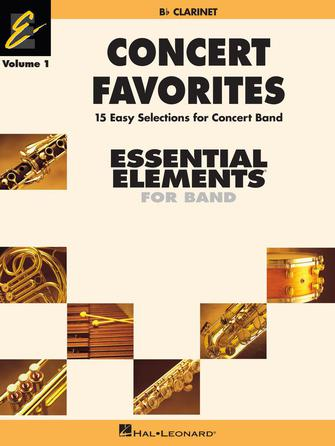 Product Cover for Concert Favorites Vol. 1 – Bb Clarinet