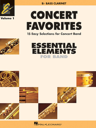 Product Cover for Concert Favorites Vol. 1 – Bb Bass Clarinet