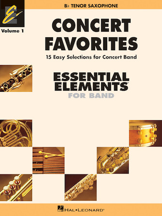 Product Cover for Concert Favorites Vol. 1 – Bb Tenor Sax