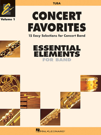 Product Cover for Concert Favorites Vol. 1 – Tuba