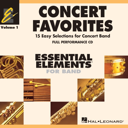 Product Cover for Concert Favorites Vol. 1 – CD