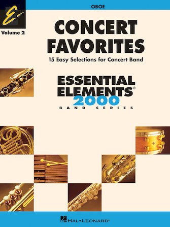 Product Cover for Concert Favorites Vol. 2 – Oboe