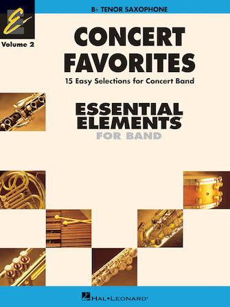 Product Cover for Concert Favorites Vol. 2 – Tenor Sax