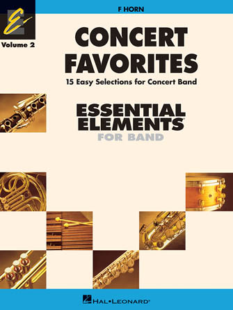 Product Cover for Concert Favorites Vol. 2 – F Horn