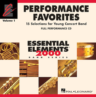 Product Cover for Performance Favorites, Vol. 1 - Full Performance CD
