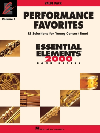 Product Cover for Performance Favorites, Volume 1