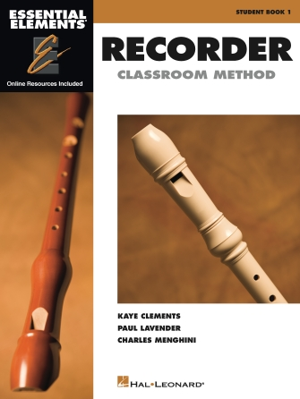 Product Cover for Essential Elements for Recorder Classroom Method – Student Book 1