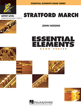 Product Cover for Stratford March