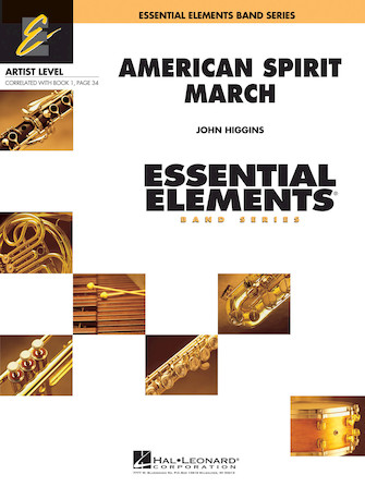Product Cover for American Spirit March