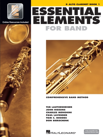 Product Cover for Essential Elements for Band – Eb Alto Clarinet Book 1 with EEi