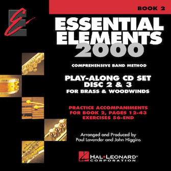 Essential Elements for Band - Book 2 Play-Along CD Set