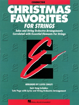 Product Cover for Essential Elements Christmas Favorites for Strings