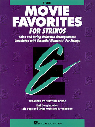 Product Cover for Essential Elements Movie Favorites for Strings