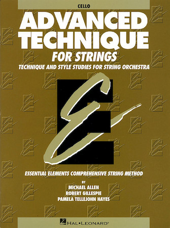 Product Cover for Advanced Technique for Strings (Essential Elements series)