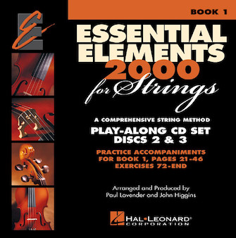 Product Cover for Essential Elements for Strings - Book 1 Play-Along CD Set