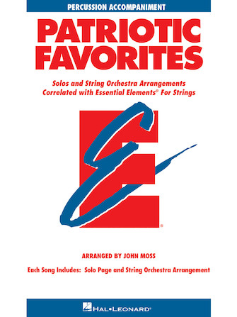 Product Cover for Patriotic Favorites for Strings