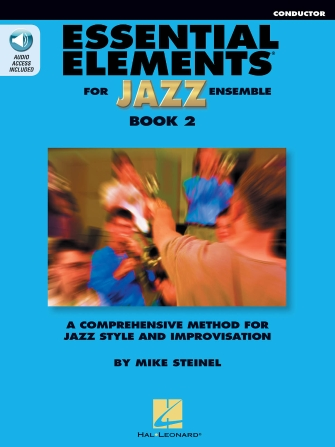 Essential Elements for Jazz Ensemble Book 2 – Conductor