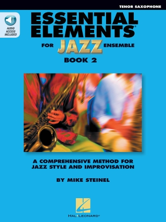 Product Cover for Essential Elements for Jazz Ensemble Book 2 – Bb Tenor Saxophone