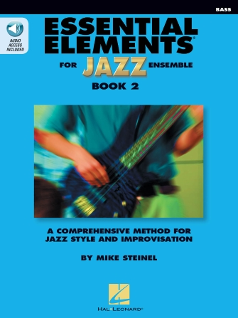 Product Cover for Essential Elements for Jazz Ensemble Book 2 – Bass