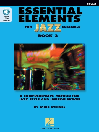 Product Cover for Essential Elements for Jazz Ensemble Book 2 – Drums