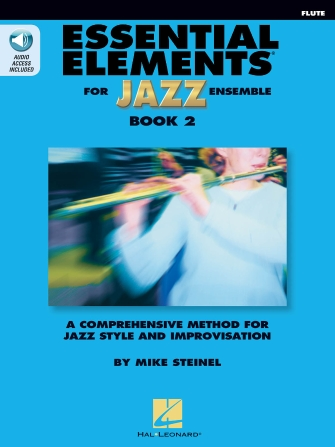 Product Cover for Essential Elements for Jazz Ensemble Book 2 – Flute