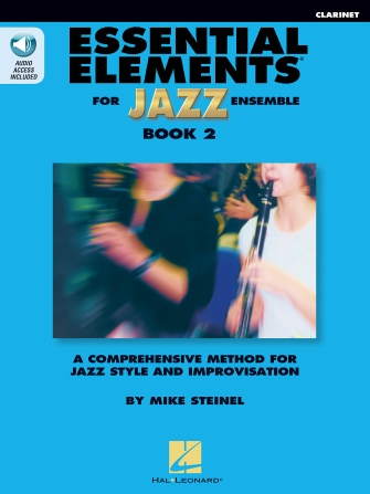 Product Cover for Essential Elements for Jazz Ensemble Book 2 – Clarinet