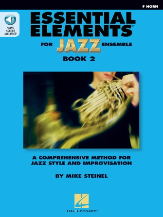 Product Cover for Essential Elements for Jazz Ensemble Book 2 – F Horn