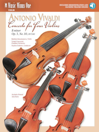 Vivaldi – Concerto for Four Violins in B minor, Op. 3, No. 10, RV580