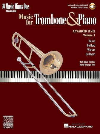 Music for Trombone & Piano – Advanced Level Volume 1