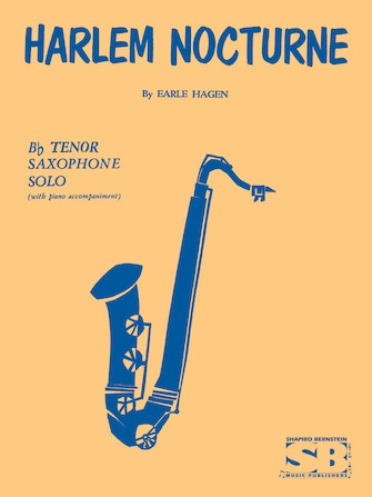 Product Cover for Harlem Nocturne For B Flat Tenor Saxophone With Piano Accompaniment