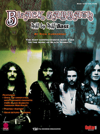 Product Cover for Black Sabbath – Riff by Riff Bass