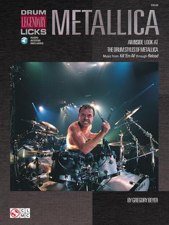 Product Cover for Metallica – Drum Legendary Licks