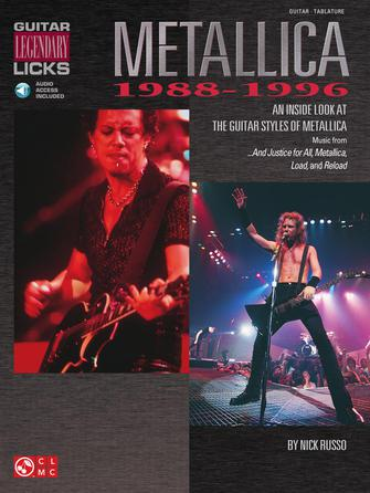 Product Cover for Metallica – Legendary Licks 1988-1996