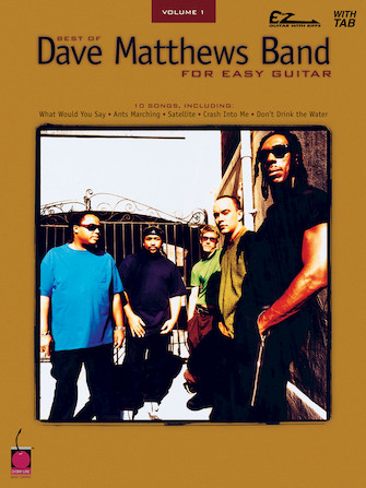 Product Cover for Best of Dave Matthews Band for Easy Guitar