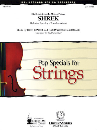 Product Cover for Music from Shrek