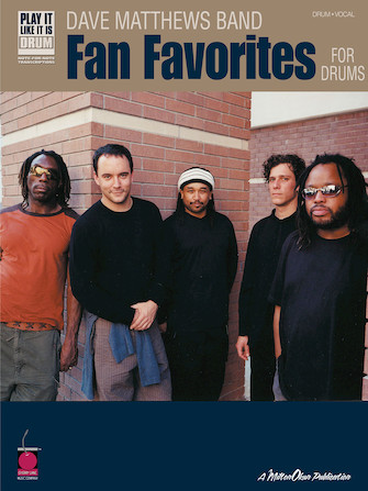Product Cover for Dave Matthews Band – Fan Favorites for Drums