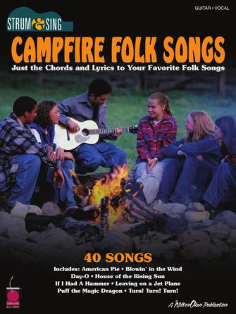 Product Cover for Campfire Folk Songs – Strum & Sing Guitar