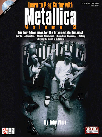 Product Cover for Learn to Play Guitar with Metallica – Volume 2