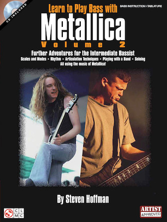 Product Cover for Learn to Play Bass with Metallica – Volume 2
