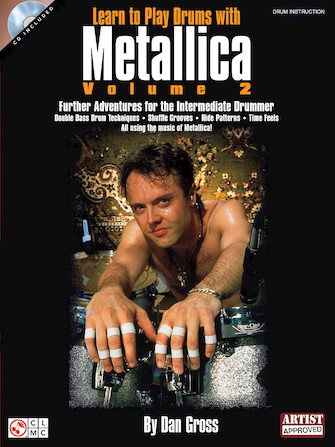 Product Cover for Learn to Play Drums with Metallica – Volume 2